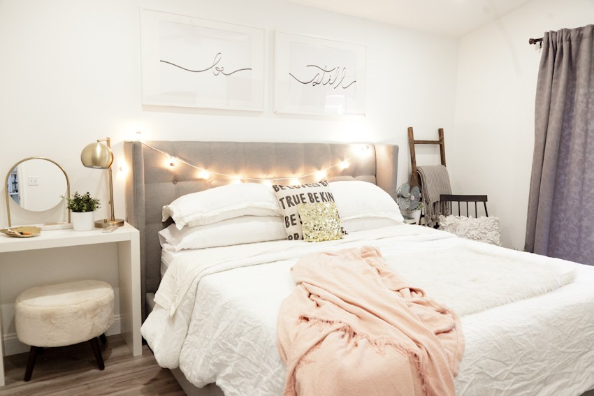 Master Bedroom Makeover Part 1 by popular South Florida lifestyle Fresh Mommy Blog