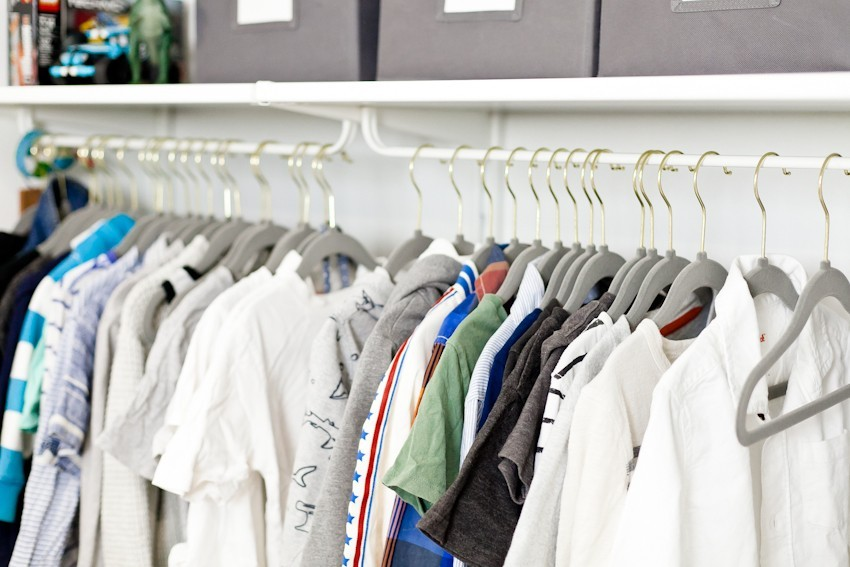Kids Closet Organization Tips by popular Florida mom blogger Tabitha Blue of Fresh Mommy Blog