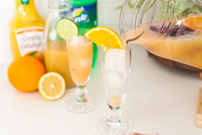 A refreshing citrus Spring Sipper mocktail, or make it a cocktail, for any occasion! - A Refreshing Citrus Spring Sipper Mocktail Recipe by popular Florida lifestyle blogger Fresh Mommy Blog