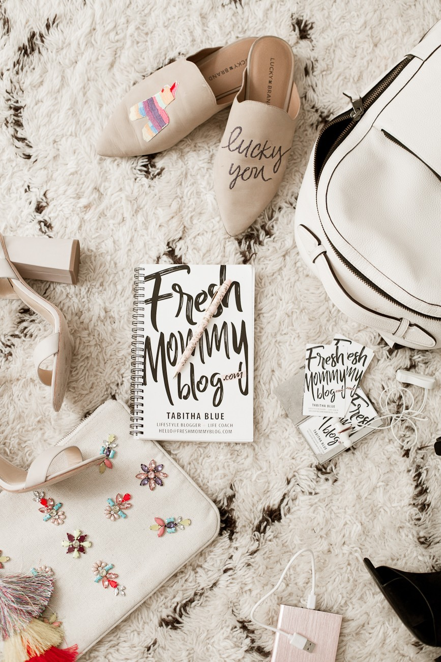 5 Fierce Boss Babe Tips for Traveling to a Conference: How to Pack, What to Wear & How to Prepare! Conference outfits, style, packing and fashion tips for women- from popular Florida lifestyle blogger Fresh Mommy Blog - Conference Checklist