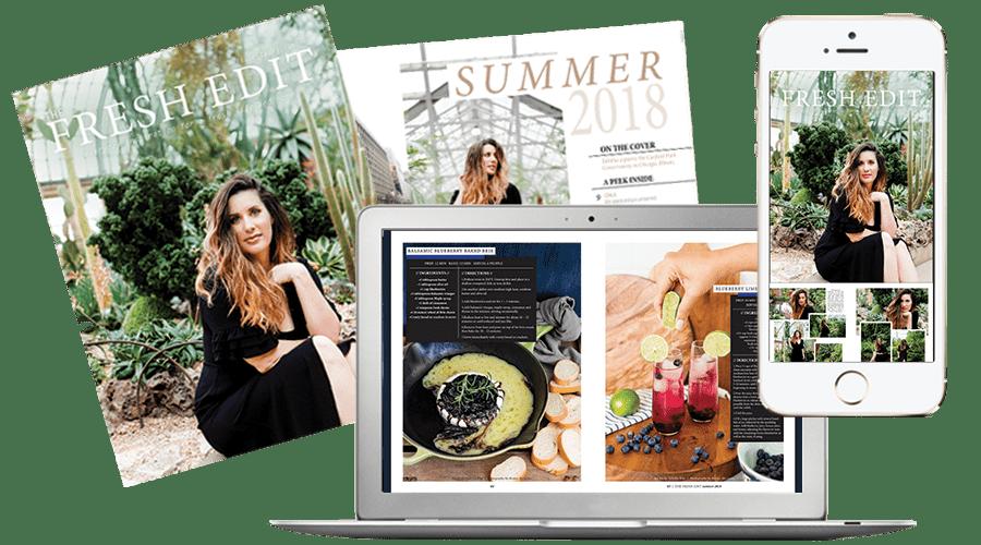 The Fresh Edit Lifestyle Magazine Volume 2: Summer 2018