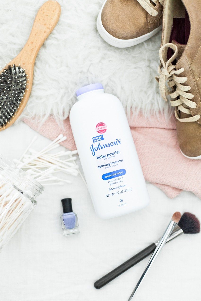 Johnson Baby Product Beauty Hacks featured by popular Florida lifestyle blogger, Tabitha Blue of Fresh Mommy Blog