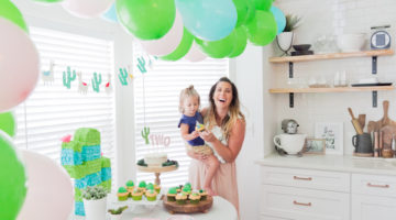 A Taco TWOsday Birthday Fiesta: Super Fun Taco Party Ideas featured by popular Florida lifestyle blogger, Tabitha Blue of Fresh Mommy Blog