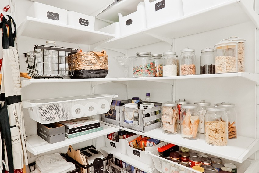 3 Essential Pantry Organization Tips + Laundry Room To Walk In Pantry  Makeover Featured By
