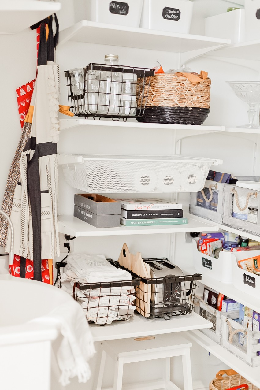 ... 3 Essential Pantry Organization Tips + Laundry Room To Walk In Pantry  Makeover Featured By ...