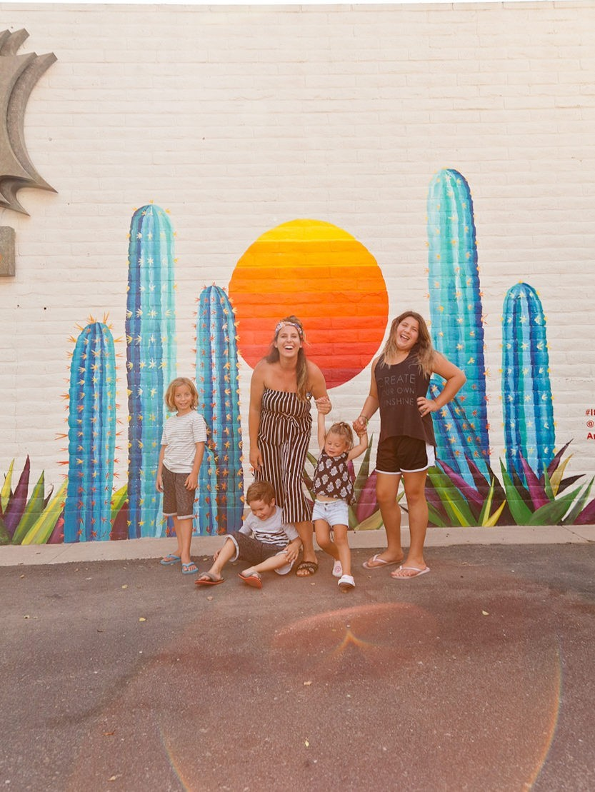 The Best Things to Do in Scottsdale, AZ with your Family featured by popular Florida travel blogger, Tabitha Blue of Fresh Mommy Blog