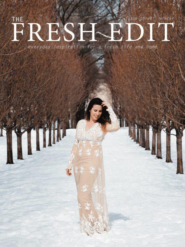 The Fresh Edit Volume 3 Fall/ Winter Edition