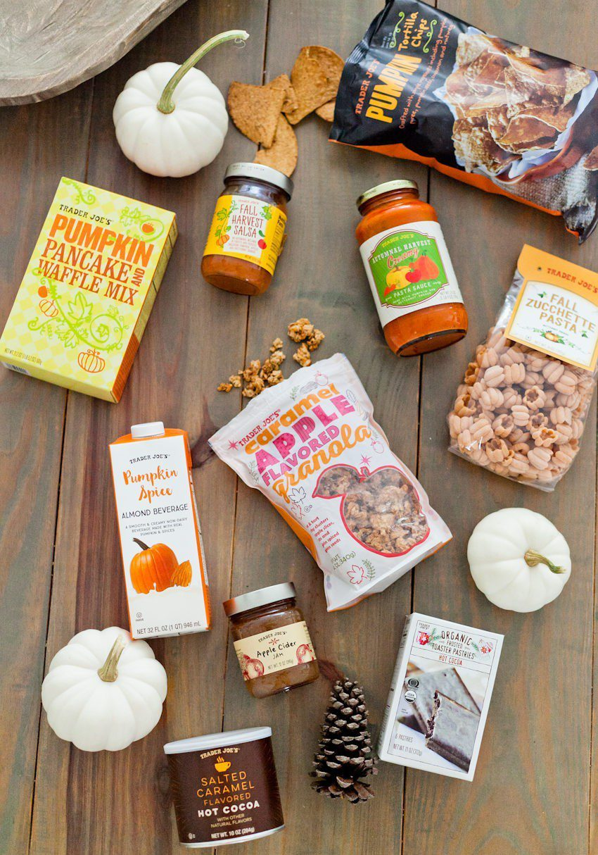 All of our delicious pumpkin favorites and fall flavors | Shopping guide | Tabitha Blue | My Favorite Fall Trader Joe's Haul featured by top Florida lifestyle blog Fresh Mommy Blog