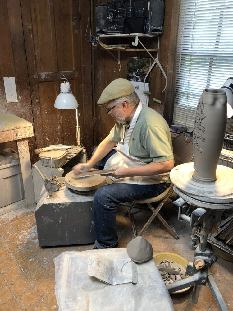 A Quick Maggie Valley Travel Guide for your Next Smoky Mountains Vacation featured by top Florida travel, life and style blog, Fresh Mommy Blog: handmade pottery