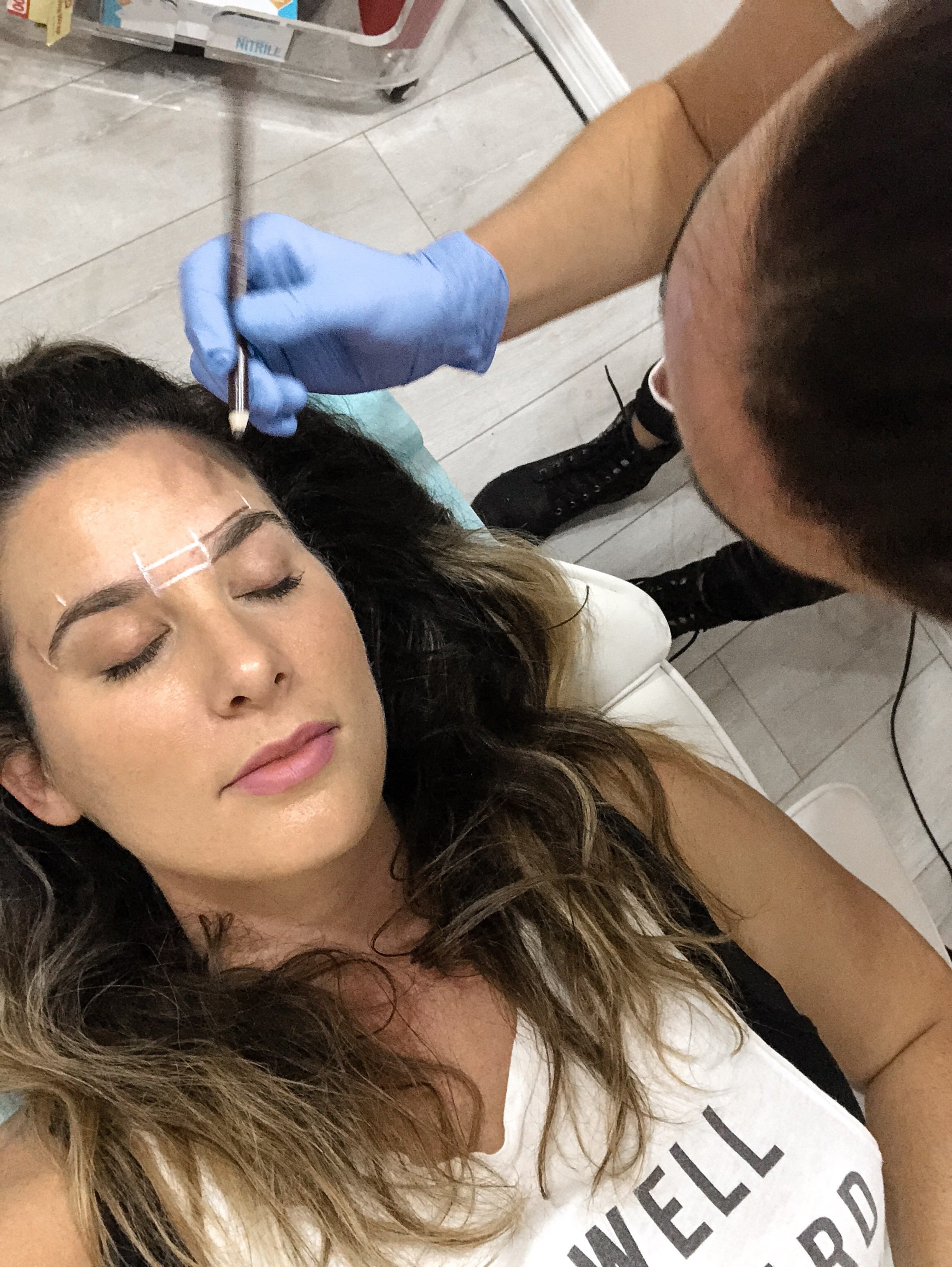 A step by step microblading guide through my own microblading experience, before and after pictures, and FAQ to help you on your own microblading journey!