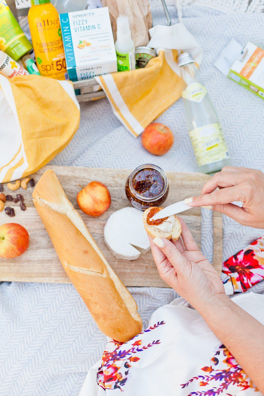 Mother's Day gift basket ideas for the perfect Mother's Day Picnic featured by top US life and style blog, Fresh Mommy Blog