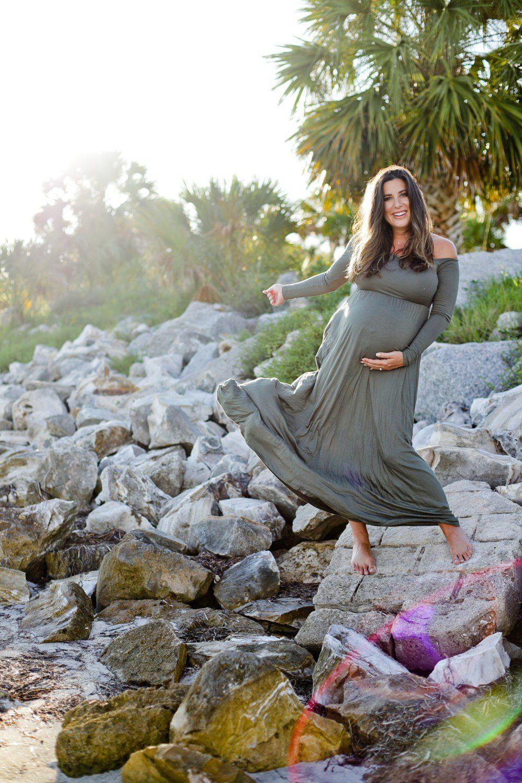 Beach Maternity Photoshoot Life And Style Fresh Mommy