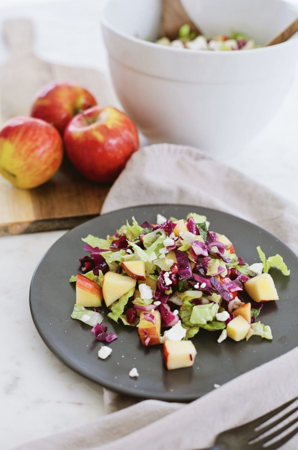 My Postpartum Care plan and the Feel Whole Challenge free downloadable Calendar with Advent Health from Tabitha Blue of Fresh Mommy Blog | My Postpartum Care and Feel Whole Challenge by popular Florida lifestyle blog, Fresh Mommy: image of a salad.