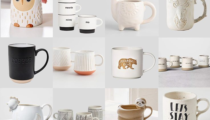 Fun and unique mugs for the coffee lover