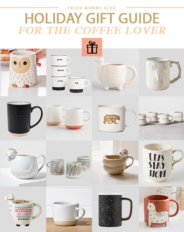 Holiday Gift Guide: Unique Coffee Mugs for the Coffee Lover