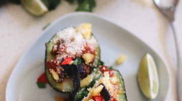 Avocado Keto Taco Bowls recipe featured by top Florida lifestyle blog, Fresh Mommy Blog: Easy Entertaining with Make-Your-Own Avo Taco Bowls from popular lifestyle blogger Tabitha Blue of Fresh Mommy Blog