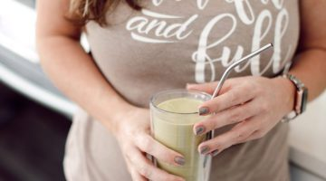 A breastfeeding shake recipe from some of my favorite ingredients that are known to help with milk production. Read on for my 5 Breastfeeding Tips and Lactation Smoothie Recipe that will help make breastfeeding your babies easier.