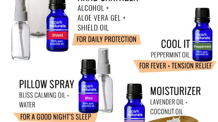 10 Amazing Essential Oil Blends for Colds and Flu. Essential oil recipes for beginners, for headaches, essential oils for coughs, how to make hand sanitizer with essential oils and more from top Florida lifestyle blogger Tabitha Blue of Fresh Mommy Blog.