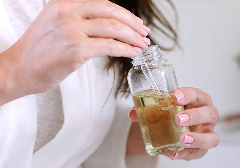 DIY Hair Growth Oil for Postpartum Care
