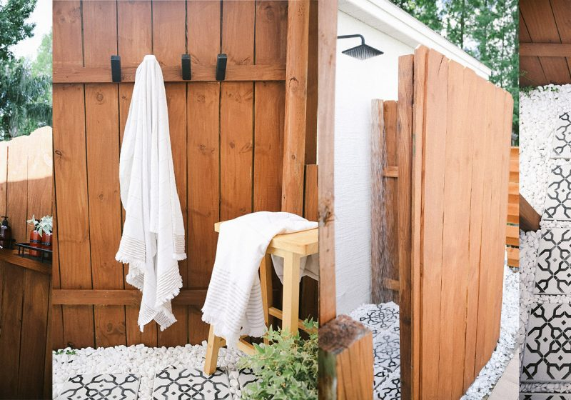 DIY Outdoor Shower Ideas on a Budget for the Ultimate Backyard Oasis