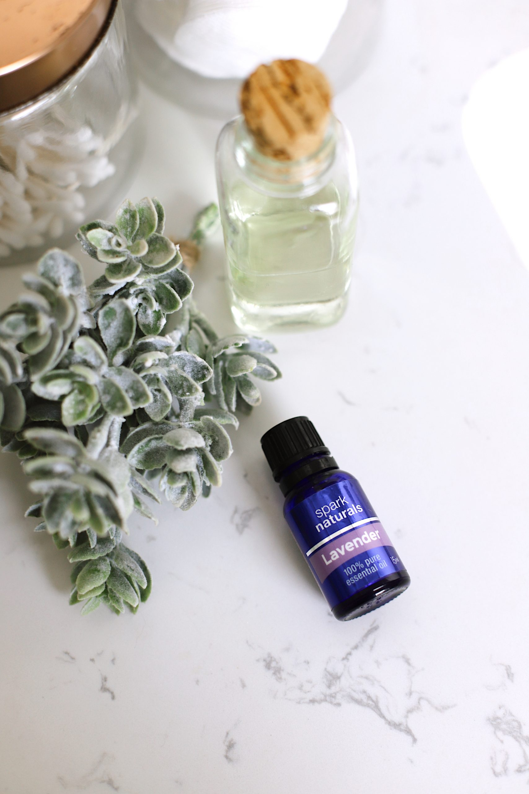 13 Spectacular Lavender Essential Oil Benefits You Need to Know About from Top US Lifestyle Blogger Tabitha Blue of Fresh Mommy Blog. | Lavender Essential Oil by popular Florida lifestyle blog, Fresh Mommy Blog: image of Spark Naturals lavender essential oil.