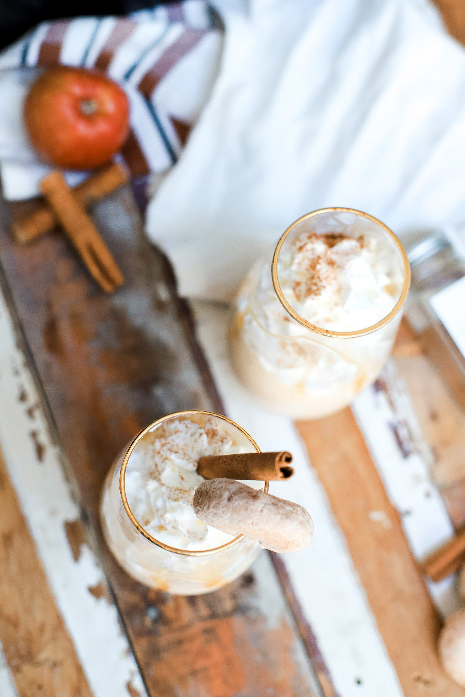 A Healthy Apple Cider Milkshake Recipe Your Family Will Love!