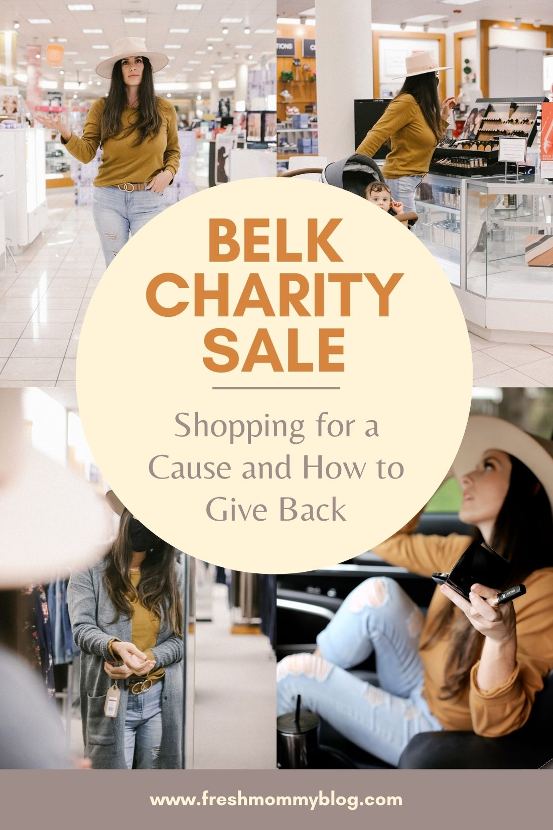 Belk Charity Sale and How to Give Back! Tabitha Blue of Fresh Mommy Blog