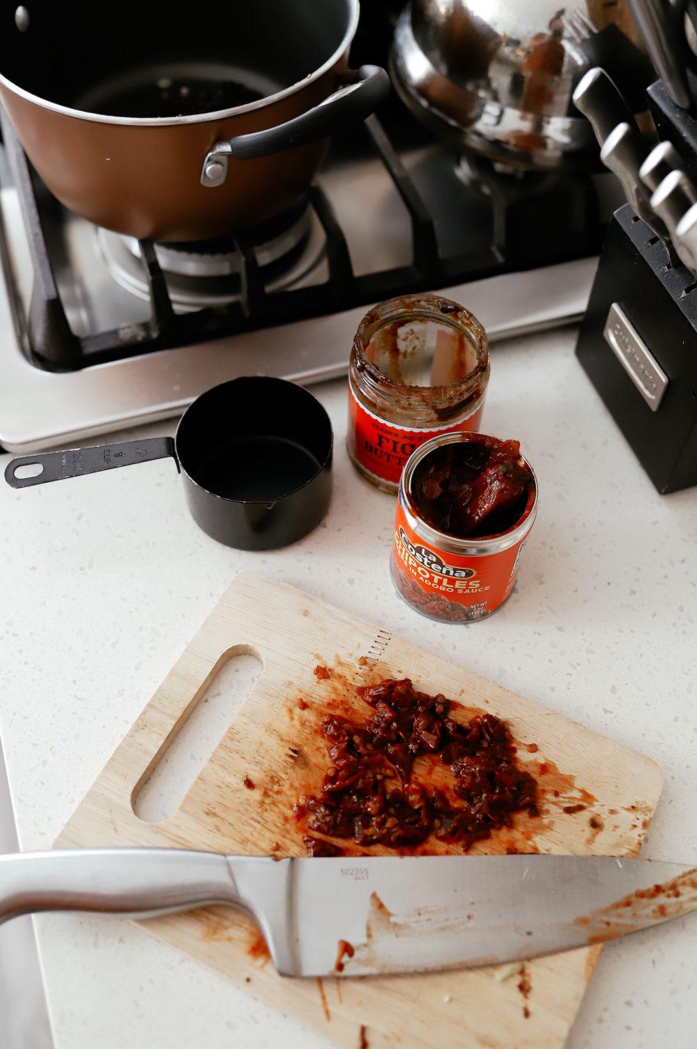 Baked Ham with Fig Chipotle Ham Glaze Recipe