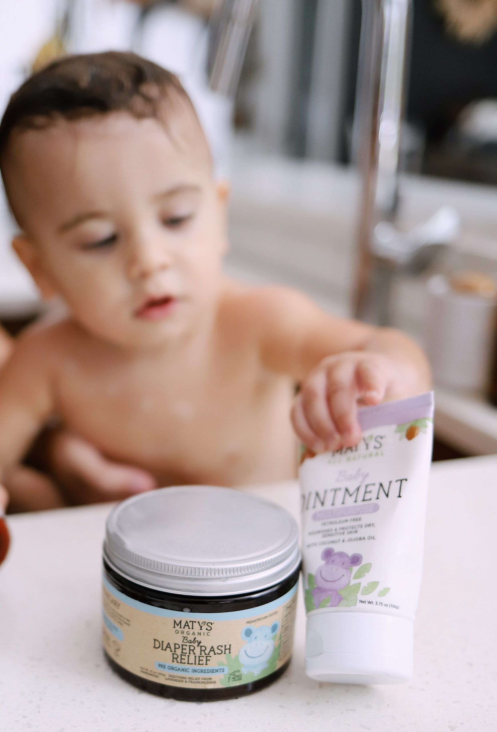 Clean Products For Little Bodies! Tabitha Blue of Fresh Mommy Blog with Maty's
