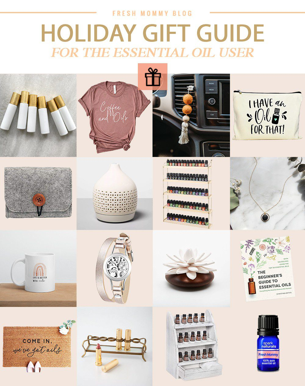 The Best Essential Oil Gift Ideas Holidays Fresh Mommy Blog