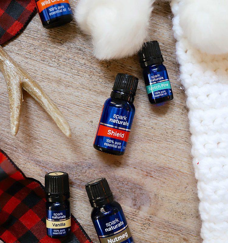 11 Christmas Essential Oil Recipes to Make Spirits Bright