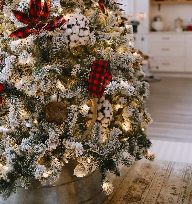 Our Christmas Tree Home Tour
