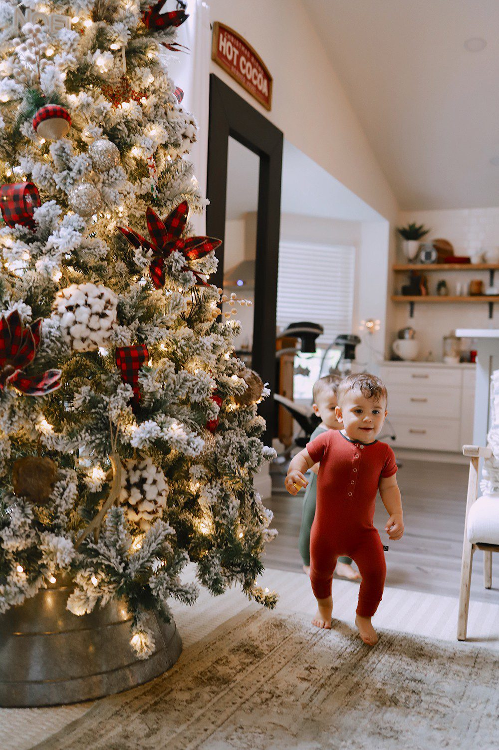 Our Christmas Tree Home Tour Fresh Mommy Blog