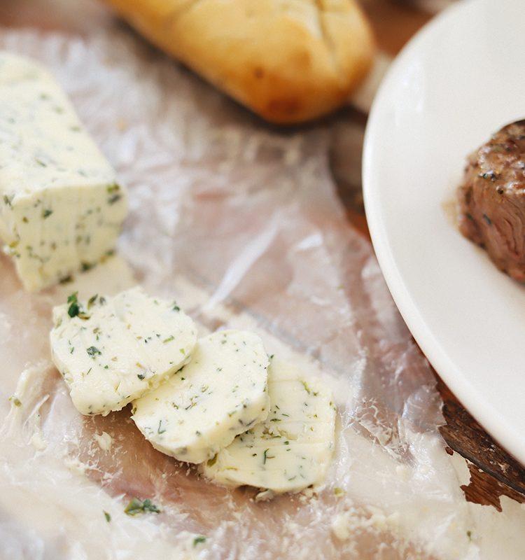 Homemade Steak Butter: How to Make an Easy Steakhouse Herb Butter for Steak
