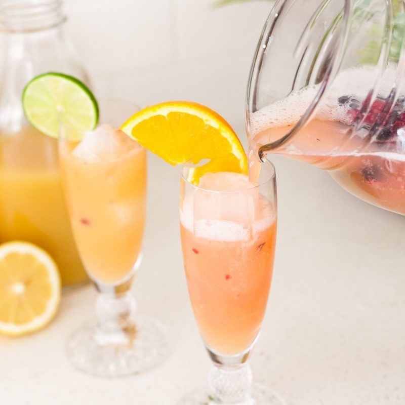 Spring Sipper mocktail, or make it a cocktail, for any occasion!